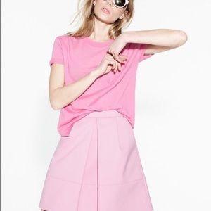 J.Crew Pink Pleated Skirt